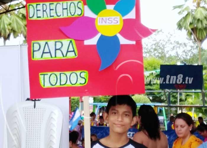 """Nueva Guinea: Realizan caminata """"Todos Tenemos Derechos"""" - TN8 Nicaragua"""