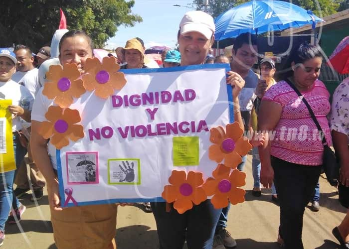 San Rafael del Sur camina por la Paz - TN8 Nicaragua