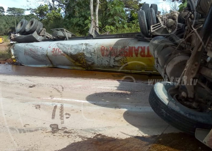 Dos lesionados en fuerte accidente entre Kukra Hill y El Rama - TN8 Nicaragua