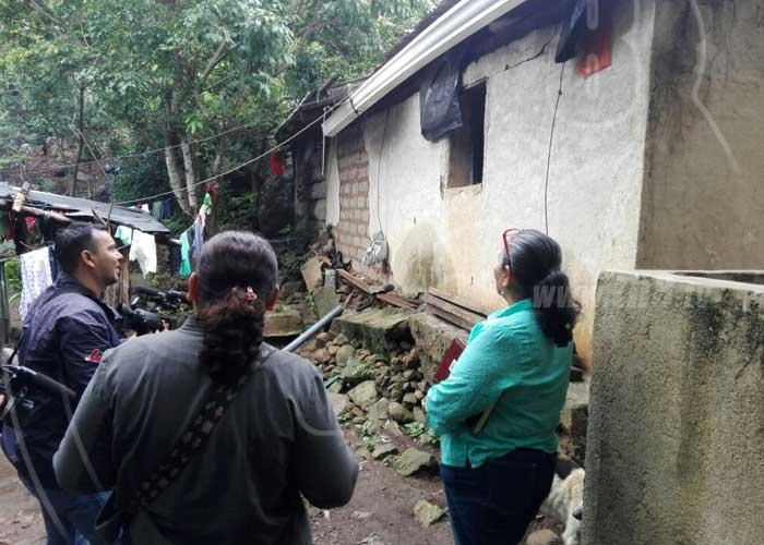 Madriz: Lluvias afectan comunidades y barrios de San José de ... - TN8 el canal joven de Nicaragua