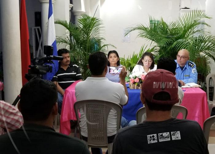 Ejecución del Plan Interinstitucional de Seguridad Vial en Ocotal - TN8 Nicaragua