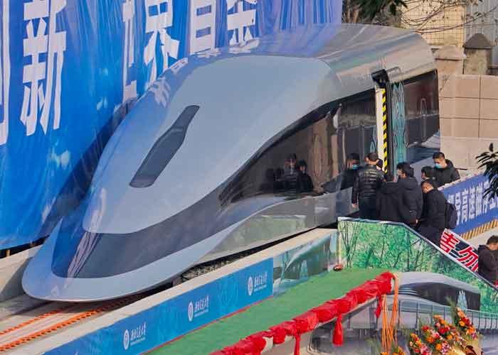 El tren más rápido del mundo? China presenta prototipo