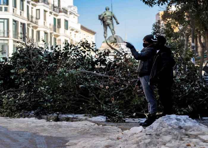 España declara zona catastrófica en regiones afectadas por borrasca Filomena