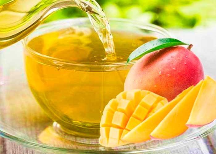 Té de hojas de mango, una bebida con propiedades curativas