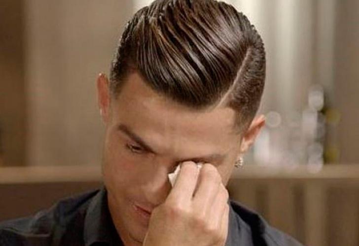 Cristiano rompe a llorar al ver unas imágenes inéditas