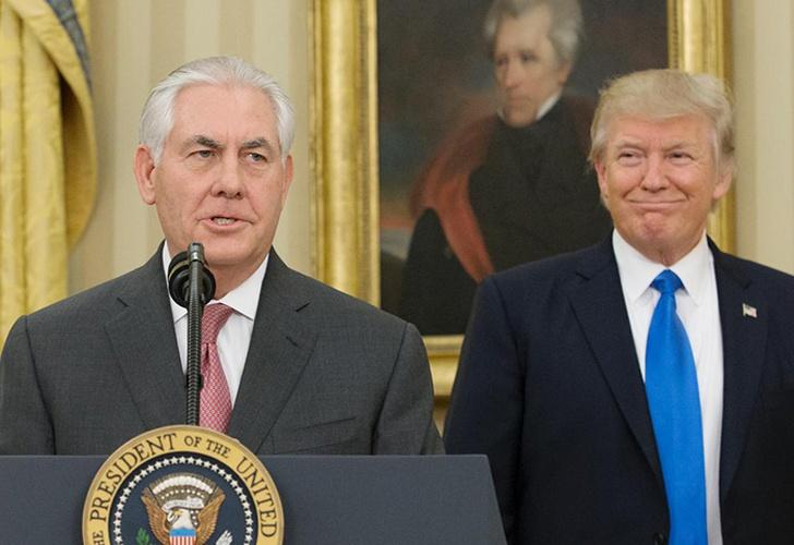 Trump insinúa que es más inteligente que Tillerson