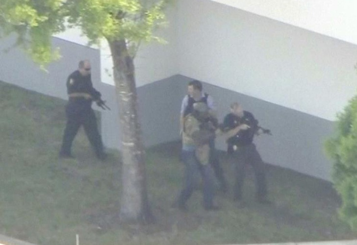 tiroteo en escuela, disparos, escuela north broward, coconut creek, estados unidos, florida, policia,