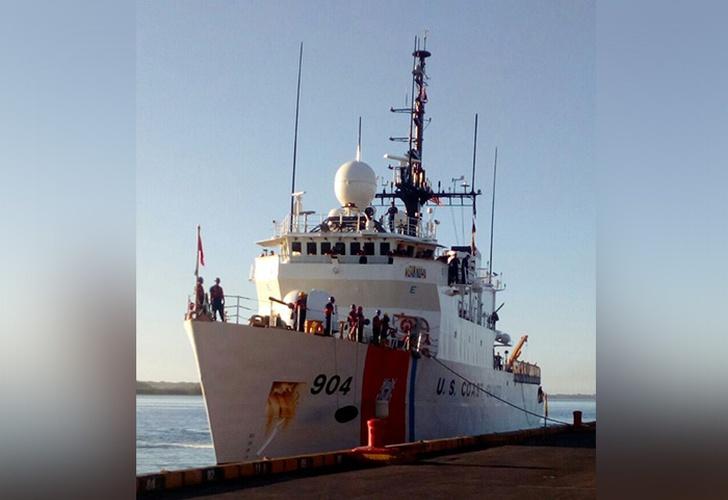 El buque estadounidense USCGC Northland visita Nicaragua