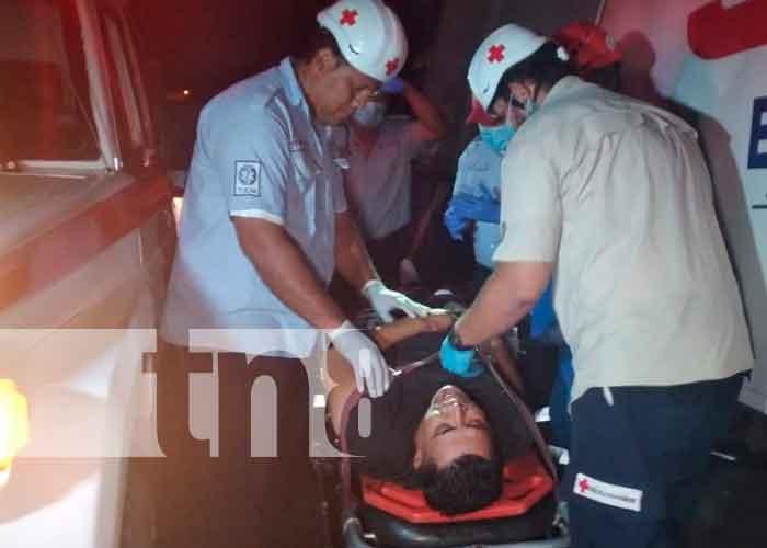 nicaragua, tipitapa, accidente de transito, exceso de velocidad, personas lesionadas