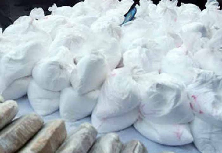Incautan más de 2 toneladas de cocaína