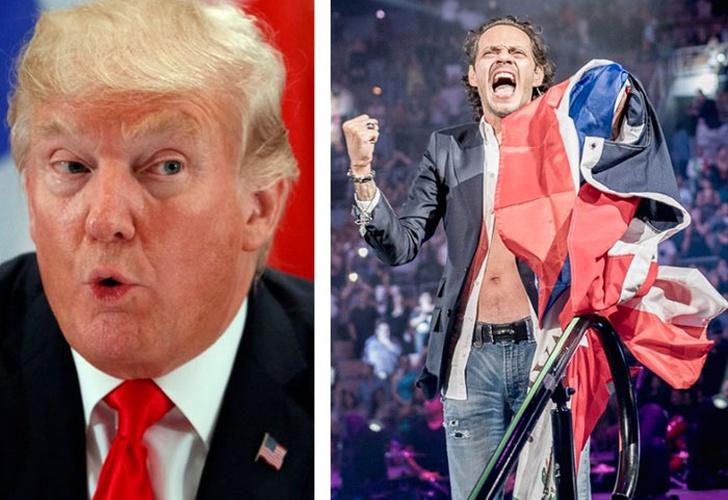 Marc Anthony estalla contra Trump y pide que ayude a Puerto Rico