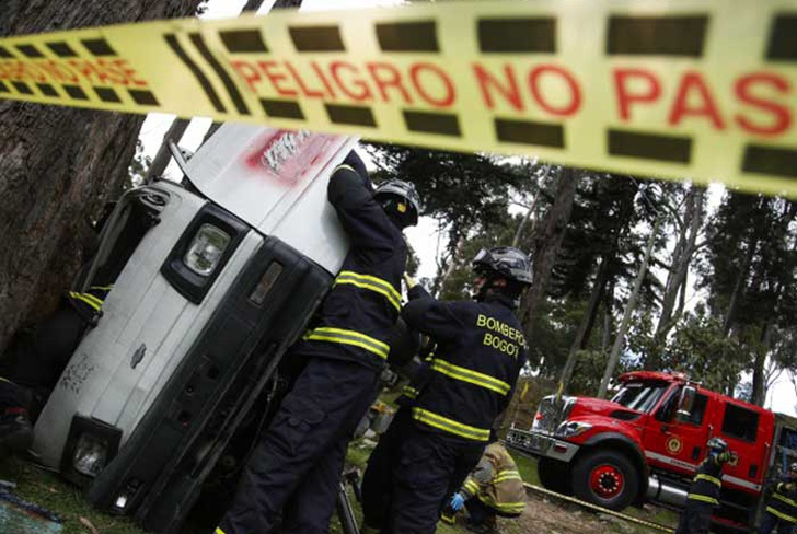 colombia, muertes, accidentes de transito, semana santa,