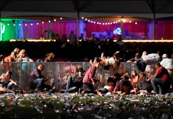 VIDEO: Momento de la balacera en Las Vegas, mas de 50 muertos