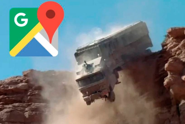 conductor, cae a barranco, tras seguir, google maps, tendencias,