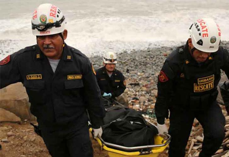 Cuatro miembros del Ejército mueren ahogados en el mar de Magdalena — Lima