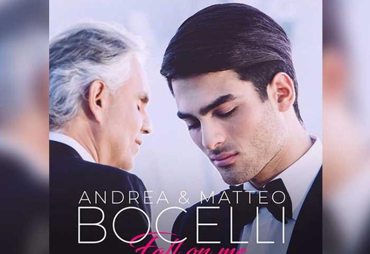 Andrea Bocelli lanzó