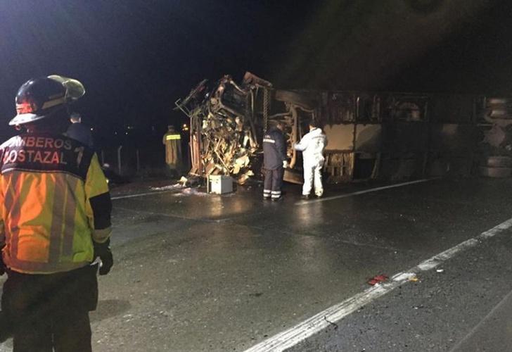 Seis muertos y 41 heridos tras accidente de tránsito en Chile
