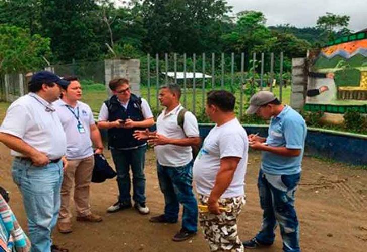 6.000 habitantes del norte de Colombia en riesgo por paramilitares