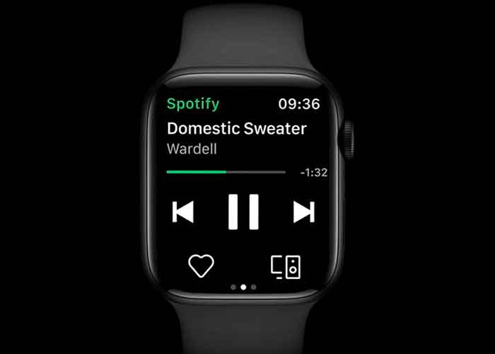 apple, tecnologia, apple watch, spotiffy, nueva funcion, streaming