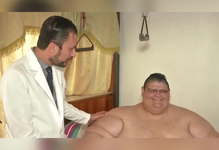 Juan Pedro Franco erfährt einen zweiten Magenbypass