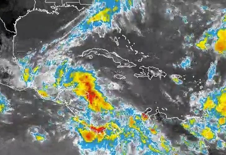 Nicaragua espera lluvia por centro de baja presión y frente frío