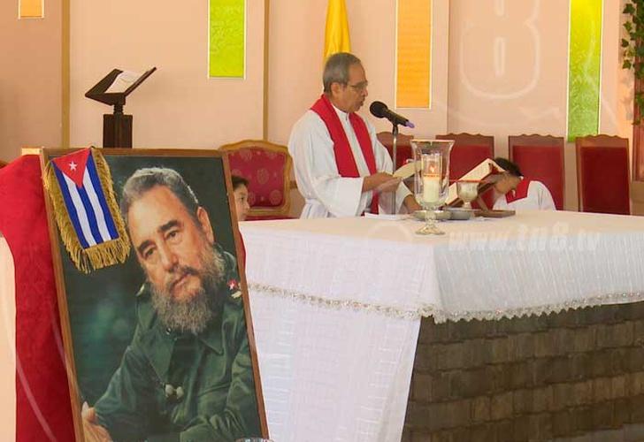 Con actividades culturales rendirán tributo a Fidel Castro en Caracas