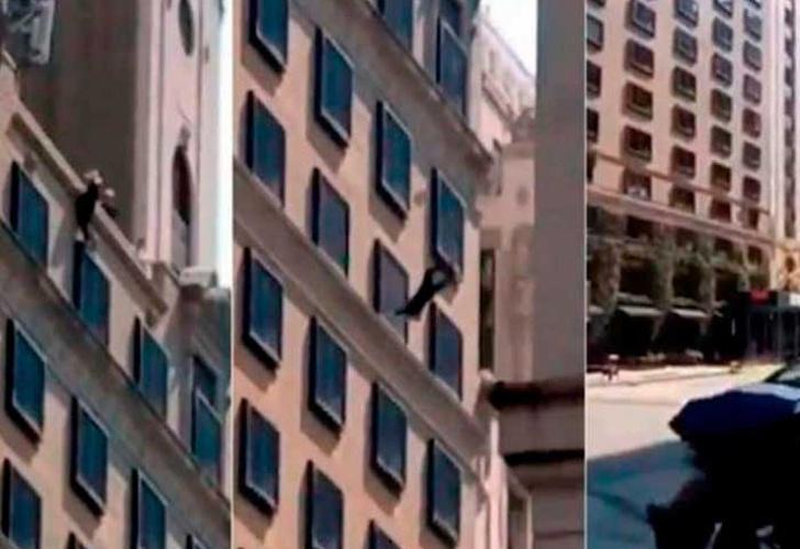 Mujer se lanza desde el piso 18 de un hotel