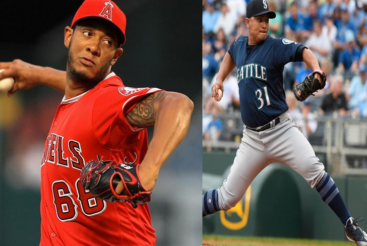 mlb, usa, seattle, angels, pitcher, erasmo, nicas, cheslor, mlb, abridor, jc ramirez ponche