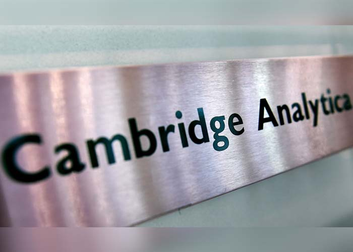Cambridge Analytica, consultora británica, rotulo de Cambridge Analytica,
