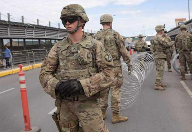 EU evalúa enviar otros mil elementos de la Guardia Nacional a Texas