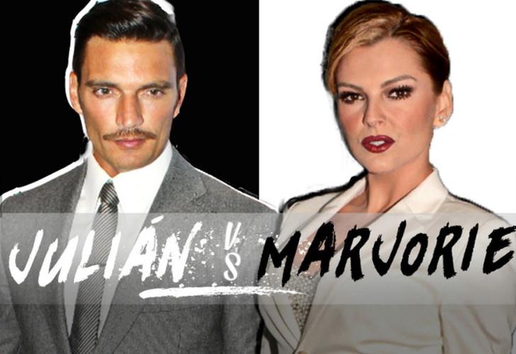 Se hará prueba de ADN al hijo de Julián y Marjorie
