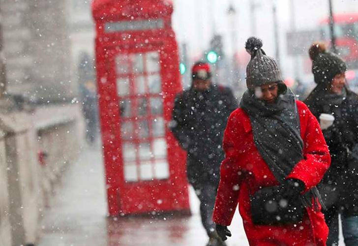 10 muertos deja ola de frío siberiano en Europa