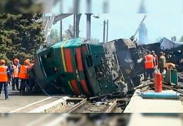 Resultado de imagen para Mueren 33 personas en accidente de tren en El Congo