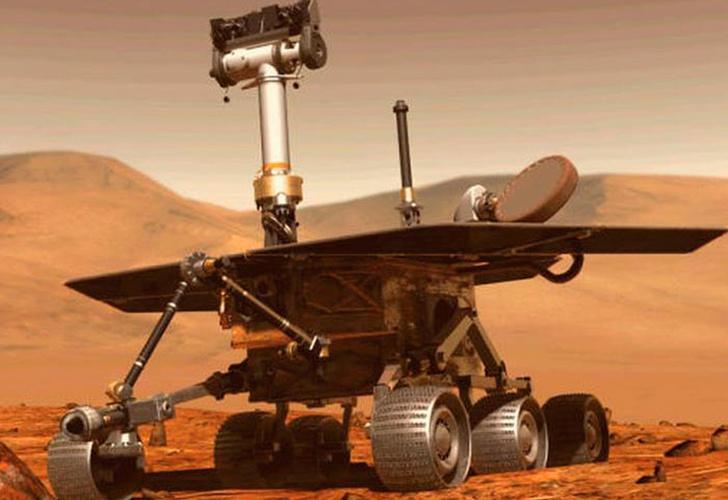 Encuentran moléculas orgánicas antiguas en rocas de Marte