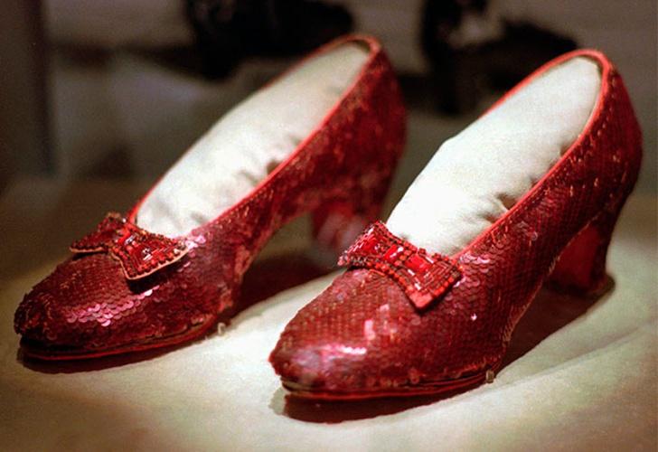 Tras 13 años: aparecieron los zapatos de rubí de Judy Garland