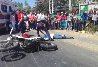 Accidente de tránsito cobra una vida más