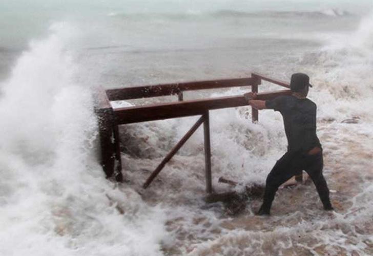 Las islas del Caribe sufren con un nuevo huracán