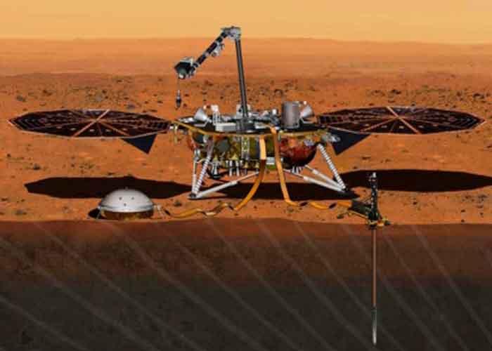 Termina su misión en Marte Sonda de InSight