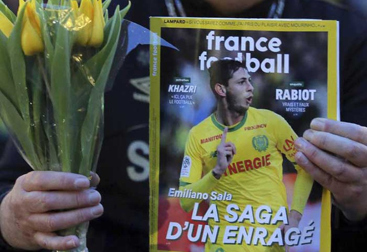 francia, restos, aeronave, avion, emiliano sala, accidente,