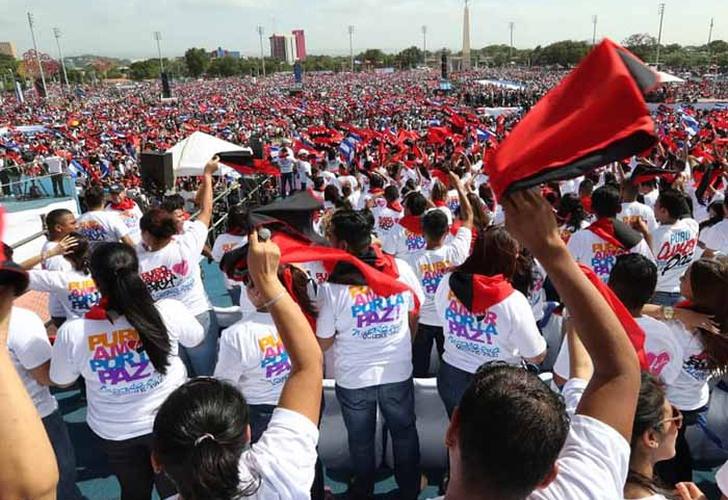 Maduro dice que Ortega derrotó un plan