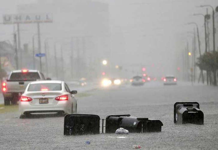 estados unidos, texas, florida, lluvias, tormenta tropical, barry, inundaciones,
