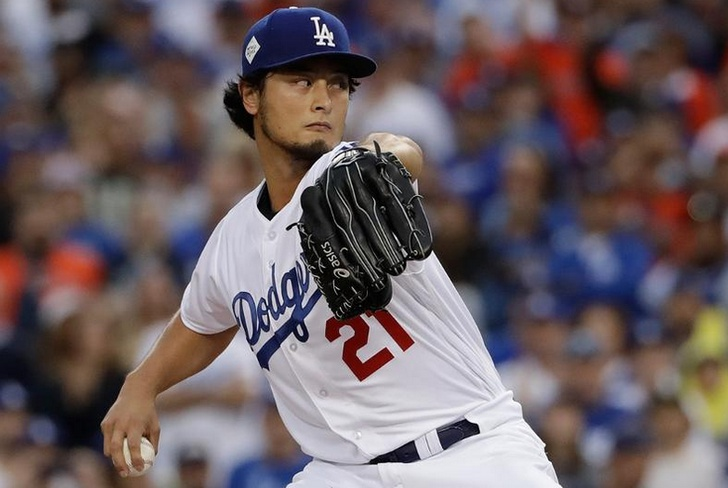 lanzamiento, pitcher, darvish, dodgers, mlb,