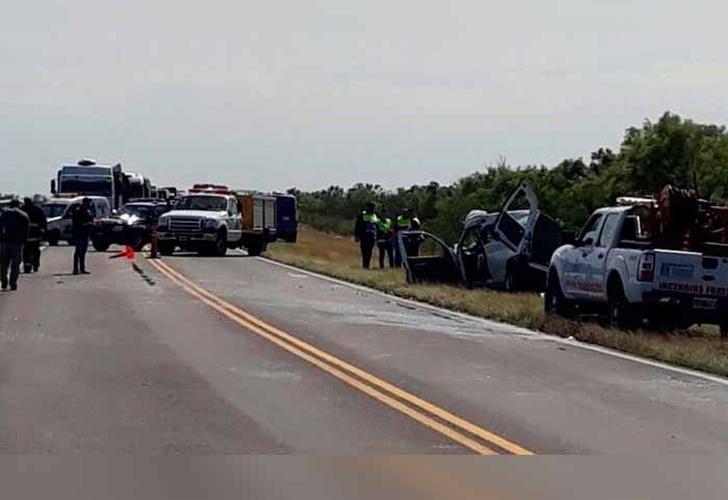 Victoria: Cinco muertos tras accidente en el puente Rosario