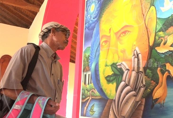 c8a520496000 Artistas nicaragüenses se inspiran en Rubén Darío para crear obras de arte
