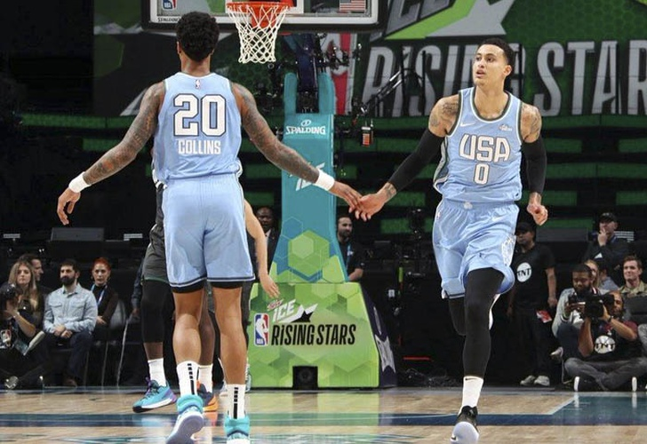 kyle kuzma, lakers, nba, baloncesto, rising stars,