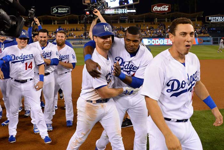 logan, forsythe, dodgers, angeles, clayton, kershaw, lance, lynn, cardenales, san luis,