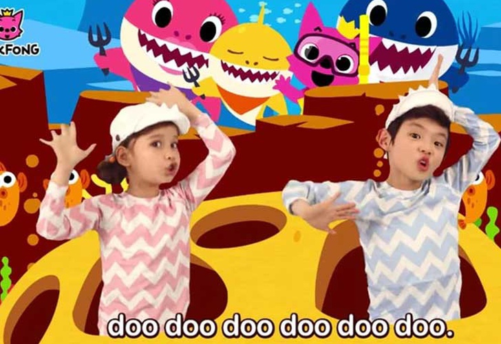 estados unidos, cancion infantil, top billboard, Baby Shark, pinkfong,
