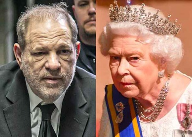 Isabel II retira condecoración al exproductor Harvey Weinstein