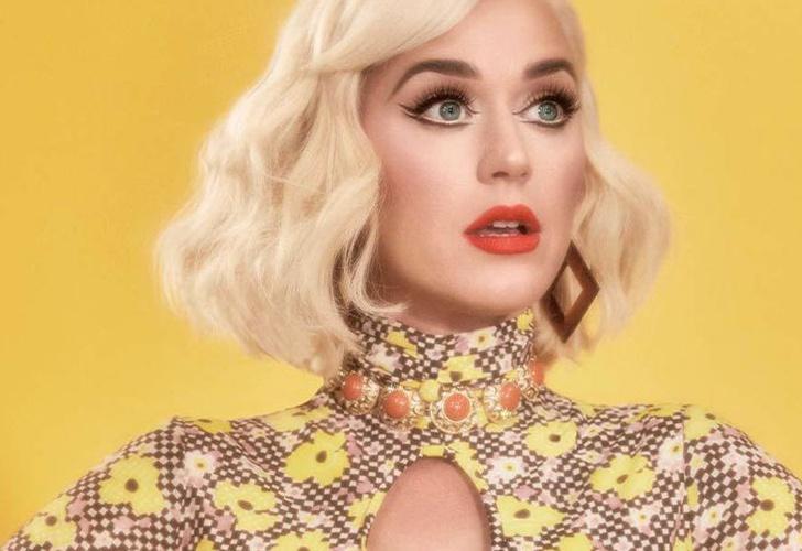 Katy Perry muestra su avanzado embarazo en un adorable disfraz de ...