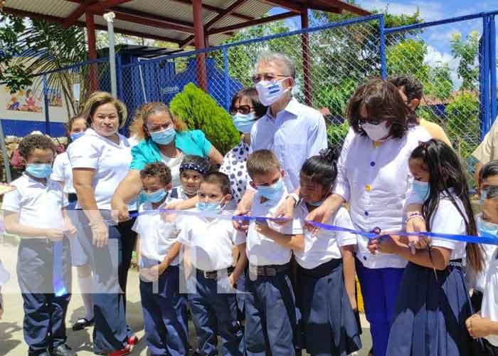 nicaragua, escuela, juigalpa, china taiwan, preescolar, mejoras,